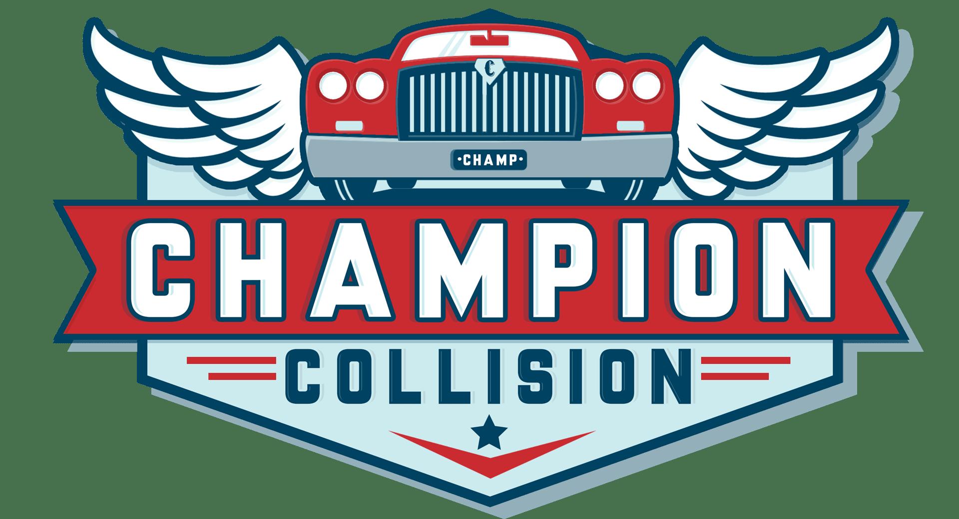 Champion Collision - Sugar Rock - Logo | Branding ...